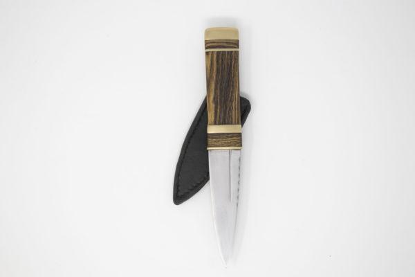 Pharlain & Lennox - Tiger Stripe with Brass Sgian Dubh